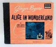 Ginger rogers as alice in alice in wonderland