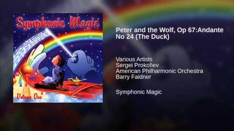 Peter and the Wolf, Op 67 Andante No 24 (The Duck)