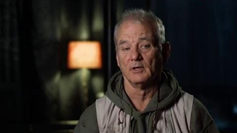 "The Jungle Book Behind The Scenes ""Baloo"" Interview - Bill Murray"