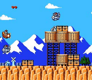 Talespin NES Gameplay