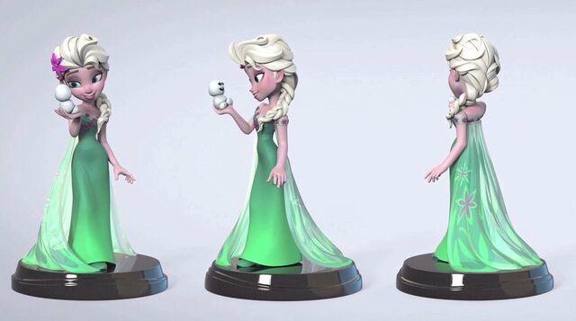 File:Cancelled Disney INFINITY Figure - Frozen Fever Elsa.jpg