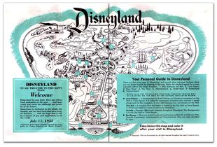 Disney '55 Brochure MAP