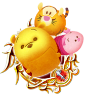 Kingdom Hearts Power Medal Tsum Tsum