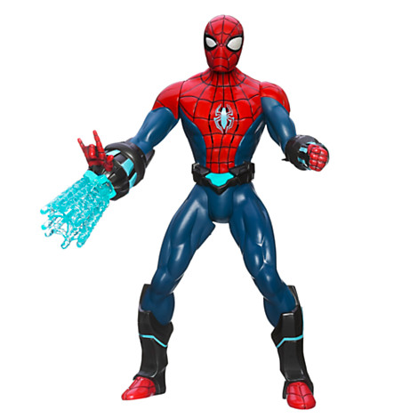 File:Spider-Man Electro-Web 10'' Figure Unboxed.jpg
