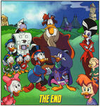 DuckTales and Darkwing Duck group shot