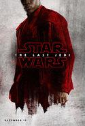 The Last Jedi red poster 2