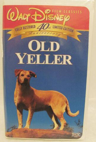 File:Walt Disney Film Classics - Old Yeller - 40th Anniversary Limited Edition - Front.JPG