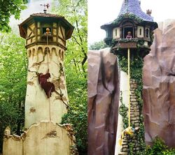 Rapunzel Sprookjesbos HKDL
