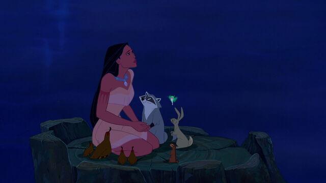 File:Pocahontas and animals.jpg
