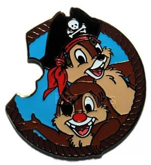 File:WDW - Mickey's Mystery Pin Machine Pirate Collection - Chip 'n' Dale.jpeg