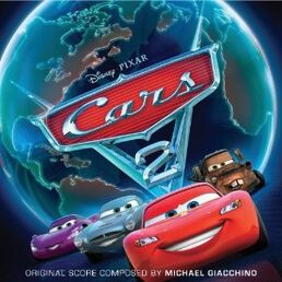 Cars 2 Soundtrack cover