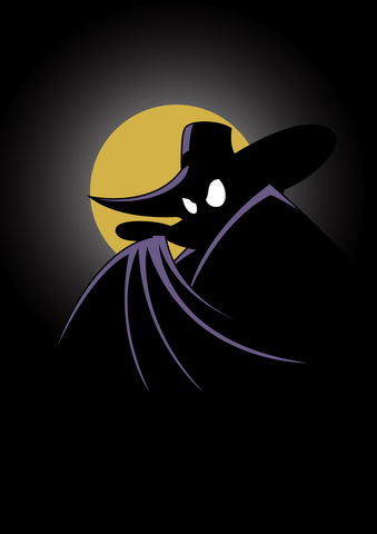 File:Darkwing Duck Silhouette Art.png