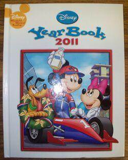 Disney yearbook 2011