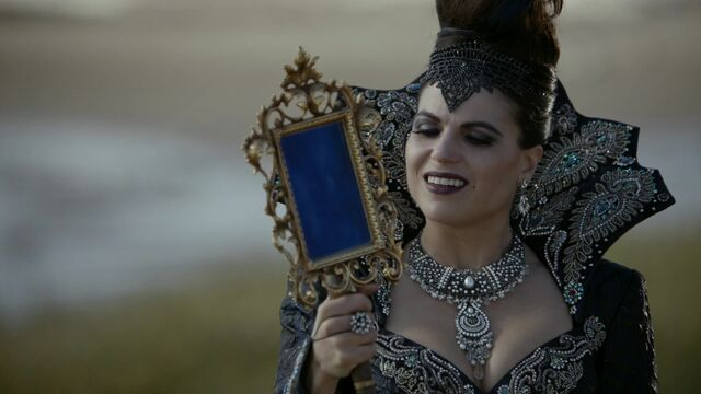 File:Once Upon a Time - 6x08 - I'll Be Your Mirror - Queen with Mirror 3.jpg