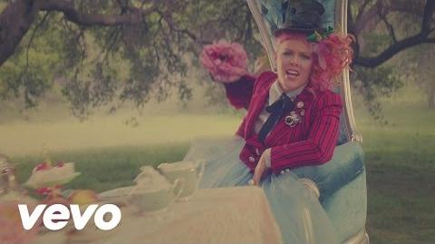 """P!nk - Just Like Fire (From the Original Motion Picture """"Alice Through The Looking Glass"""")"""