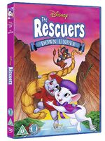 The Rescuers Down Under UK DVD 2014