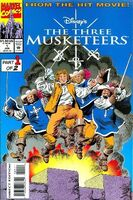 Three Musketeers Comic Vol. 1