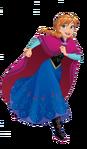 Anna is running