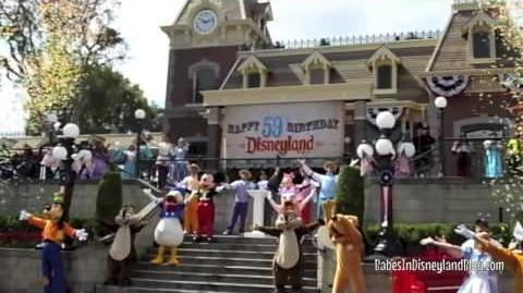 Disneyland's 59th Birthday Celebration and 60th Announcements