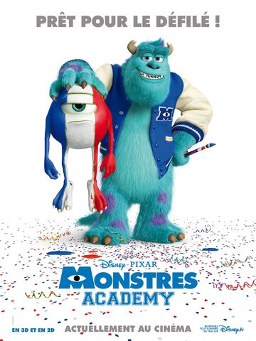 File:Monsters University - French Poster.jpg