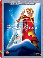 The Sword in the Stone DVD + Blu-Ray