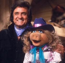 Johnny Cash Piggy