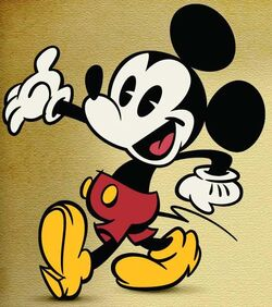 Mickey As He Appears In His Made For Tv Shorts