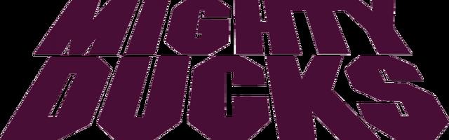 File:Mighty Ducks script logo.png