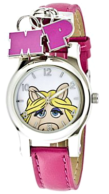 File:Jc penney miss piggy pink strap charm watch.jpg