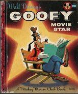 Little Golden Type Walt Disneys Goofy Movie Star Mickey Mouse Club 1956 A Edition