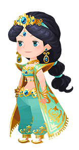 File:Jasmine Costume Kingdom Hearts χ.png