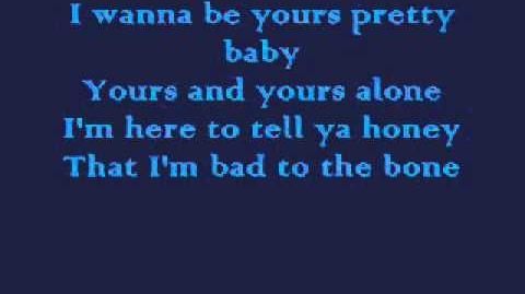Bad to the bone lyrics