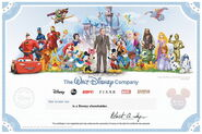 Disneystockcertificate
