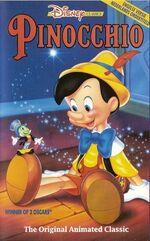 Pinocchio ne vhs