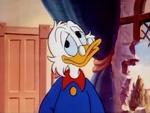 Scrooge weird smile