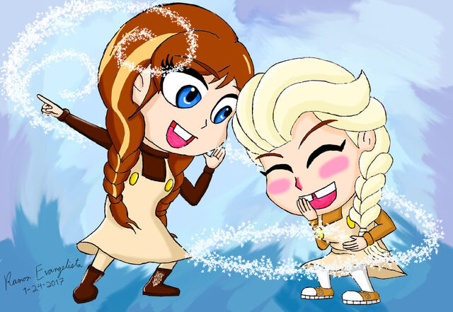 File:Anna and Elsa as Chip and Dale (final).jpg