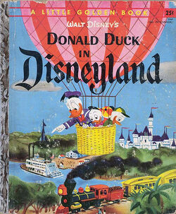 Donald duck in disneyland 3