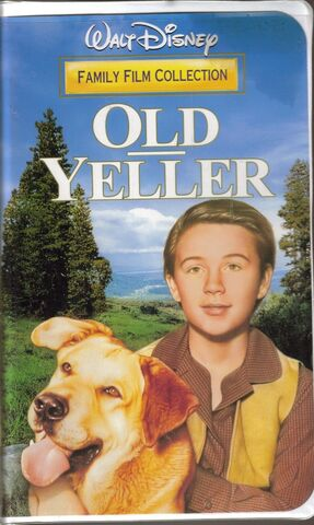 File:Walt Disney Family Film Collection - Old Yeller - (Front).JPG