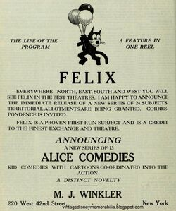 Blog Alice Comedies ad