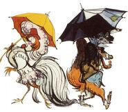 Chanticleer Reynard Umbrella
