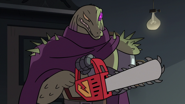 File:S2E18 Rasticore holding a dimensional chainsaw.png
