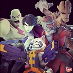 Guardians of the Galaxy team Disney Infinity