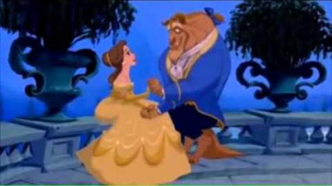 Belle and Beast goes to Disneyland