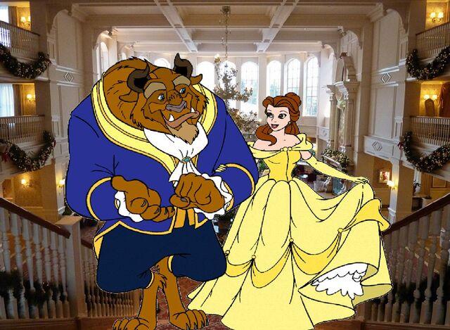File:Belle and Beast Goes to Disneyland Paris Pictures 09.JPG