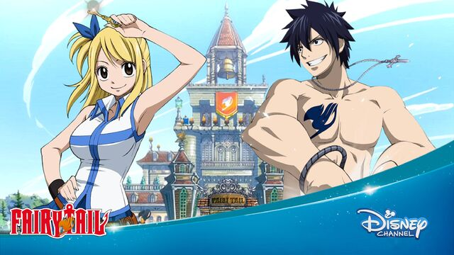 File:Disney Channel Fairy tail lucy and grey 2016 romania.jpeg