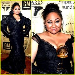 Raven at the Trumpet Awards 2009