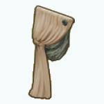 FrenchProvincialDecor - Draped Curtain