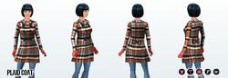 JumpIntoFall - Plaid Coat