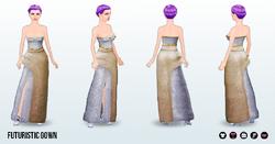 ToTheFuture - Futuristic Gown