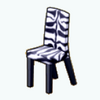 ZebraDecor - Zebra Dining Chair